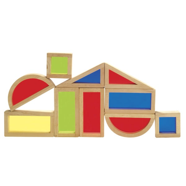Guidecraft Rainbow Blocks 10-piece