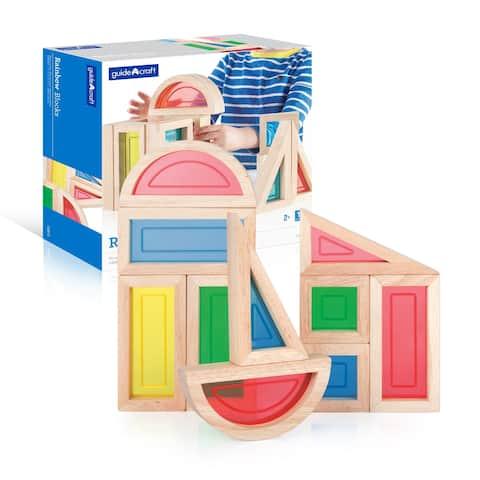 Guidecraft Rainbow Blocks 10-piece