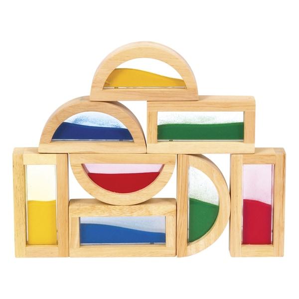 Guidecraft Rainbow Blocks Sand
