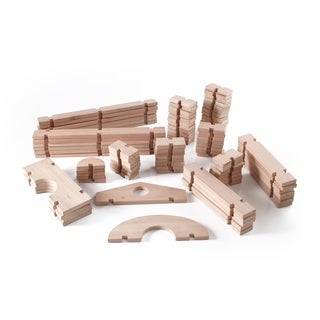 Guidecraft Notch Blocks Set 89-piece