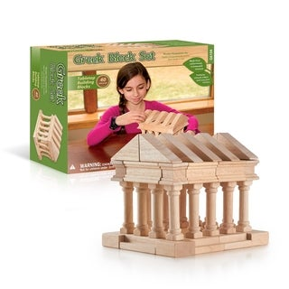 Guidecraft Greek Block Set