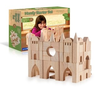 Guidecraft Tabletop Building Blocks-Starter Set