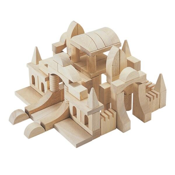Guidecraft Tabletop Building Blocks-Starter Set