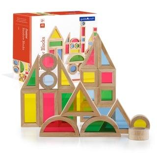 Link to Guidecraft Jr Rainbow Block 40-piece Set Similar Items in Building Blocks & Sets