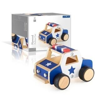 Guidecraft Plywood Police Car
