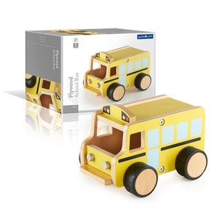 Guidecraft Plywood School Bus