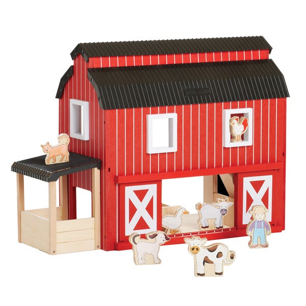 Overstock Toys For Boys : Shop guidecraft big red barn free shipping today