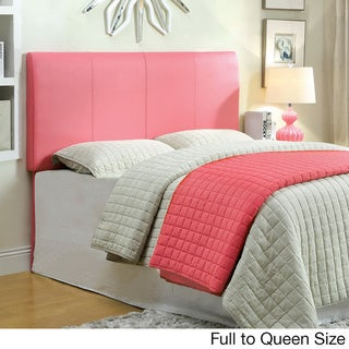 furniture of america leatherette conversion headboard
