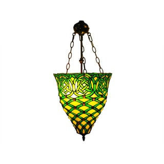 Warehouse of Tiffany Emerald Green Hanging Lamp