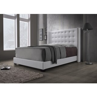 DG Casa Savoy Wingback White Bed
