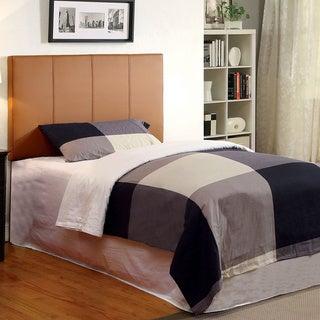 Furniture of America Kutty Adjustable Upholstered Conversion Headboard