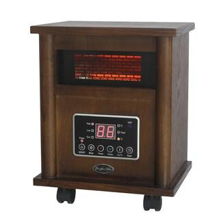 Comfort Glow QEH1400 Walnut Infrared Quartz Comfort Heater
