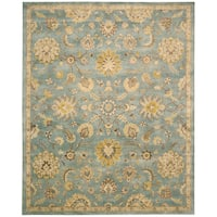 "Nourison Jaipur Light Blue Rug - 9'6"" x 13'6"""