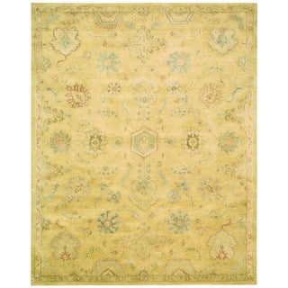"Nourison Jaipur Light Gold Rug (7'9"" x 9'9"")"