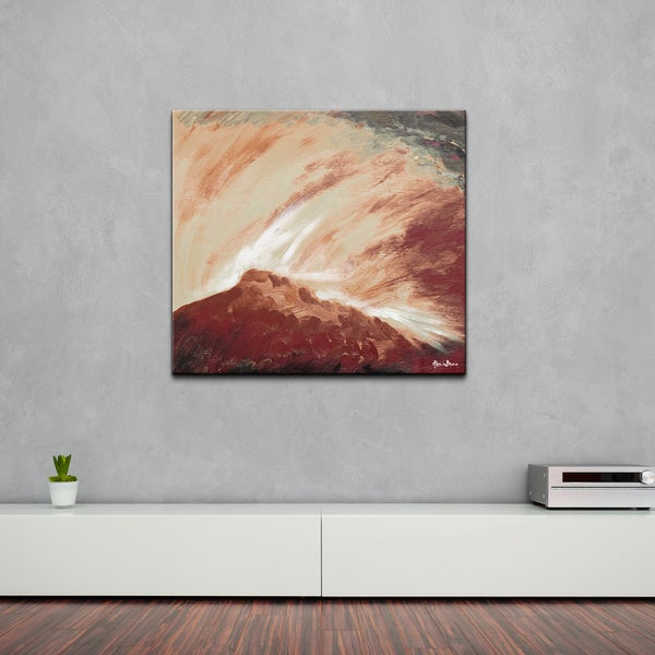 Ready2HangArt 'Abstract BX Landsape XXV' Canvas Wall Art