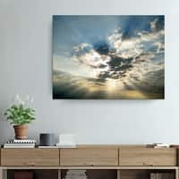 Christopher Doherty 'Cloud Escape I' Canvas Wall Art