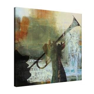 Ready2HangArt 'Trumpet' Canvas Wall Art