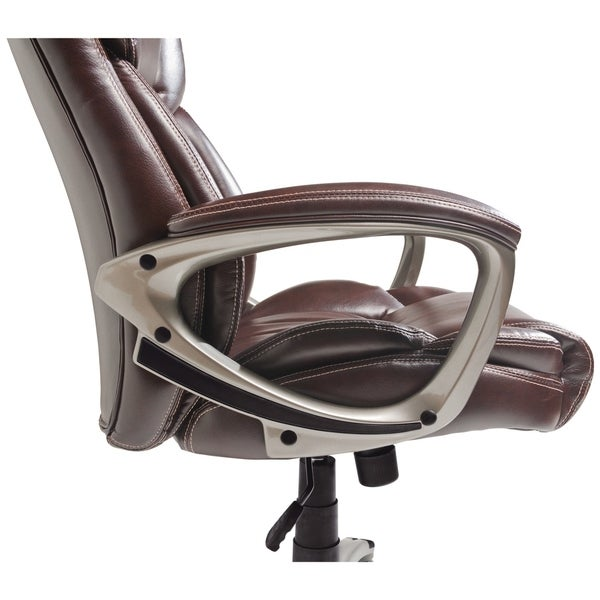 Serta At Home High Back Leather Executive Office Chair. Serta At Home Air  Health And