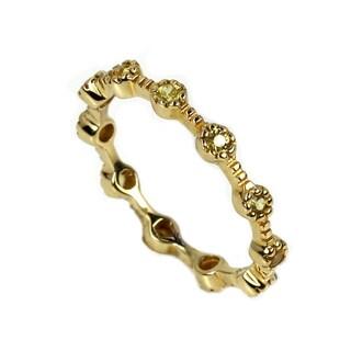 Sonia Bitton 18k Yellow Gold Yellow Sapphire Ring