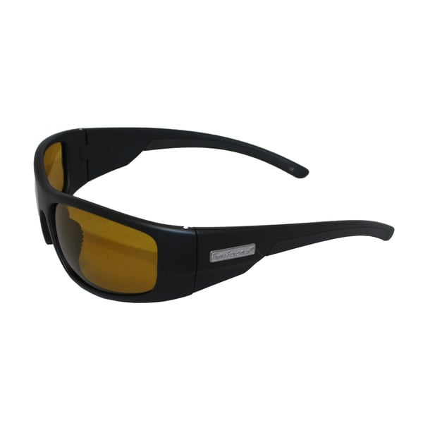 Fly Fish Cape Horn Sunglasses Mt Black/Yellow Amber
