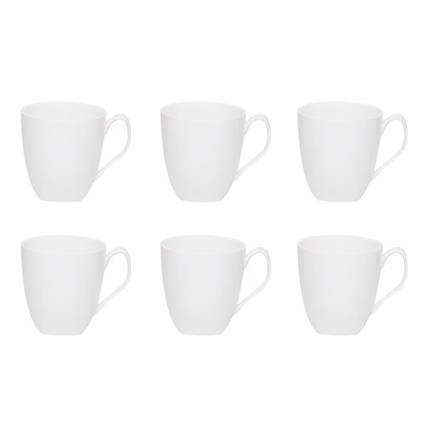 Red Vanilla Trends 12-ounce Mug (Set of 6)