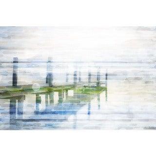 Parvez Taj 'Dock Mist' Canvas Art