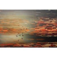 Parvez Taj 'Night Flight' Canvas Art