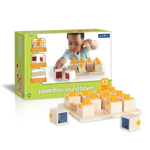 Guidecraft Peekaboo Sound Boxes - MultiColor