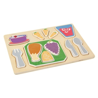 Guidecraft Sorting Food Tray Dinner