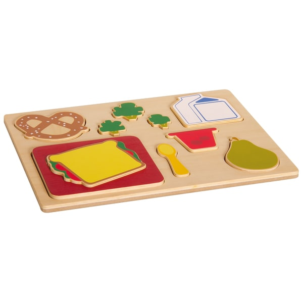 Guidecraft Sorting Food Tray Lunch