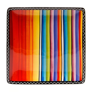 Tequila Sunrise 12.5-inch Square Platter