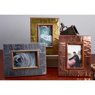 Industrial Metal 4x6 Frame (Set of 3)