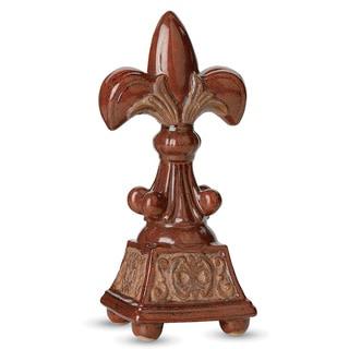 13-inch Fleur-de-lis Table Statue