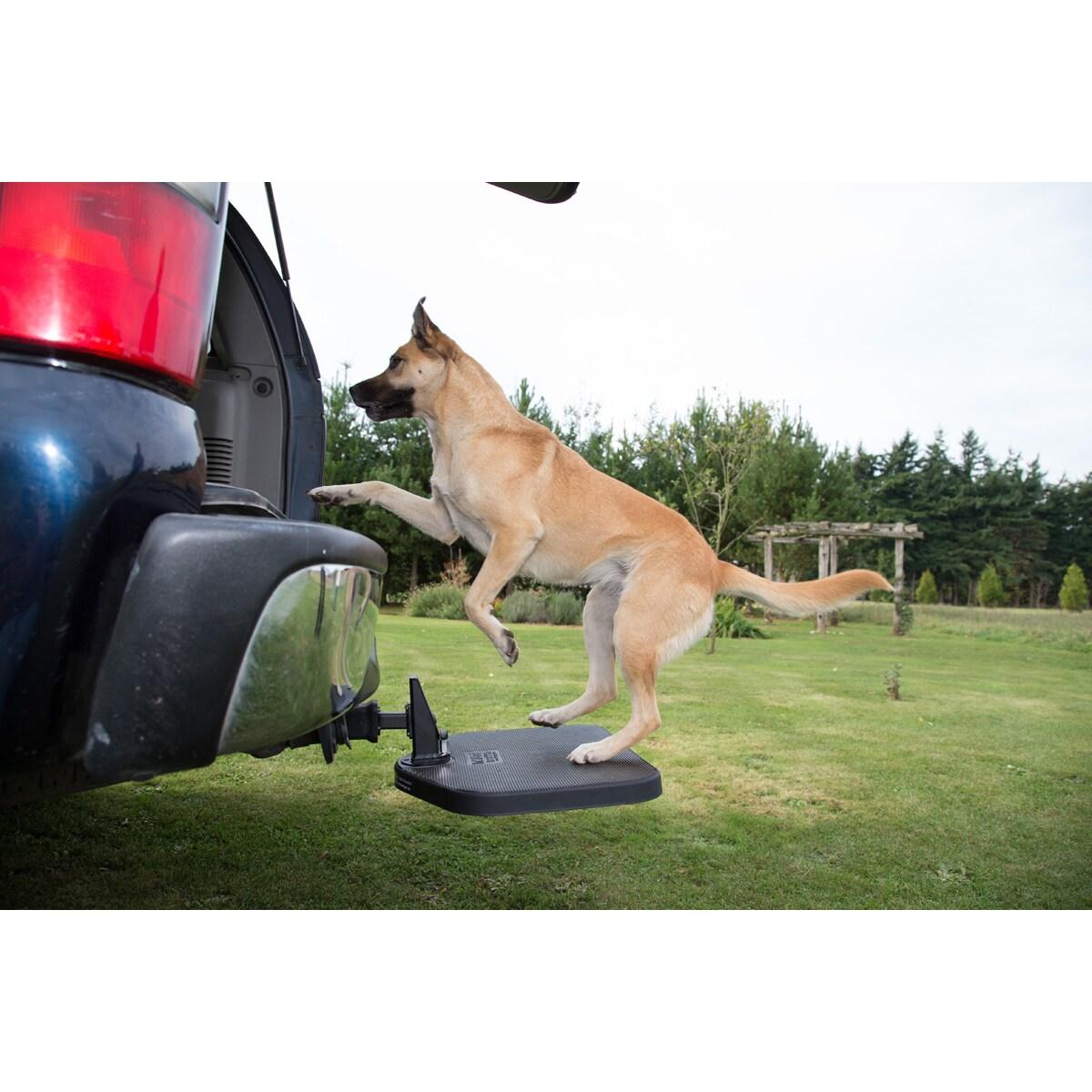 PortablePET Twistep SUV Dog Step (Twistep Dog Step), Blac...