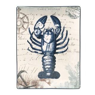 Coastal Postcards Rectangular Serving Platter