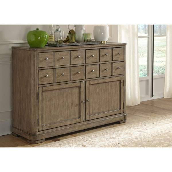 Furniture Websites With Free Shipping: Shop Weatherford Gray Server