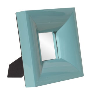 Bright Teal Tableside Mirror