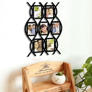 Adeco 7-opening Lace Style Picture Collage Frame