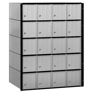 Salsbury Aluminum 20-door Standard System Mailbox