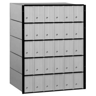 Salsbury Aluminum 30-door Standard System Mailbox