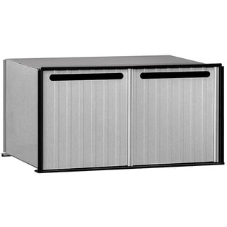 Salisbury Aluminum 2-compartment Drop Box