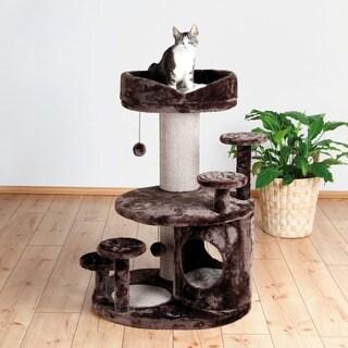 Trixie Emil 38-inch Plush Senior Playground Cat Condo