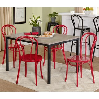 Simple Living Vintage Inspire 5-piece Dining Set