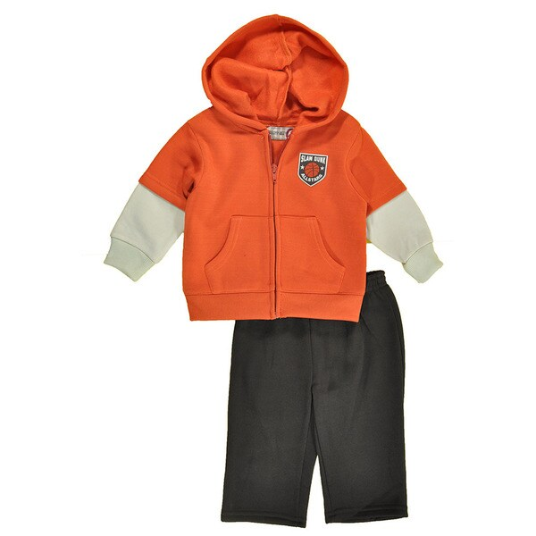 Kids Headquarters Boys' 2-piece Clothing Set in Orange
