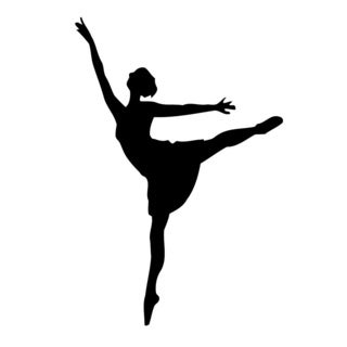 Ballet Dancer Vinyl Wall Art