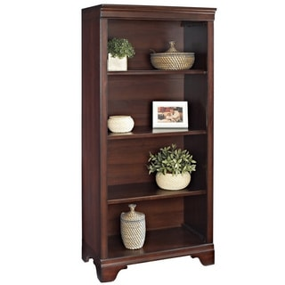 Mulberry Deveraux Cherry Finish 55-inch Bookcase