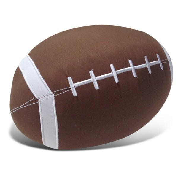 Shop Football Applique Embroidered Decorative Throw Pillow
