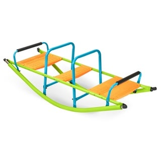 Pure Fun Rocker Kids Seesaw, Indoor Outdoor Playground