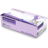 Nitrile Violet Blue Powder Free Examination Gloves (Case of 1000 Gloves)