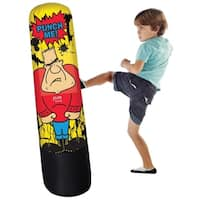Pure Boxing Bully Bag Inflatable Punching Bag for Kids - Yellow